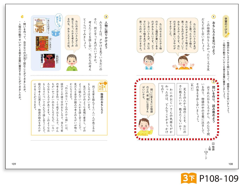 国語3年下 p108-109